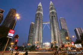 petronas-tower-evening