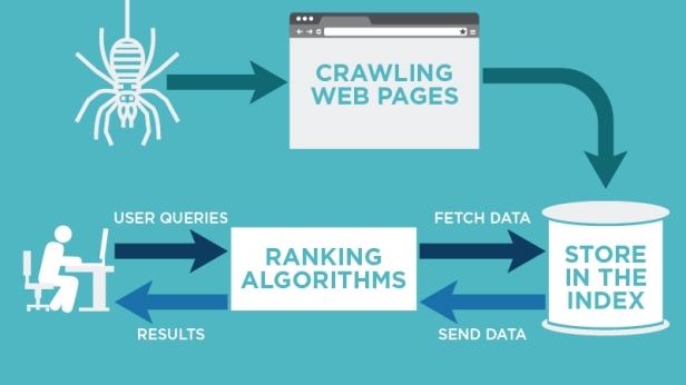 How does crawling and indexing work?