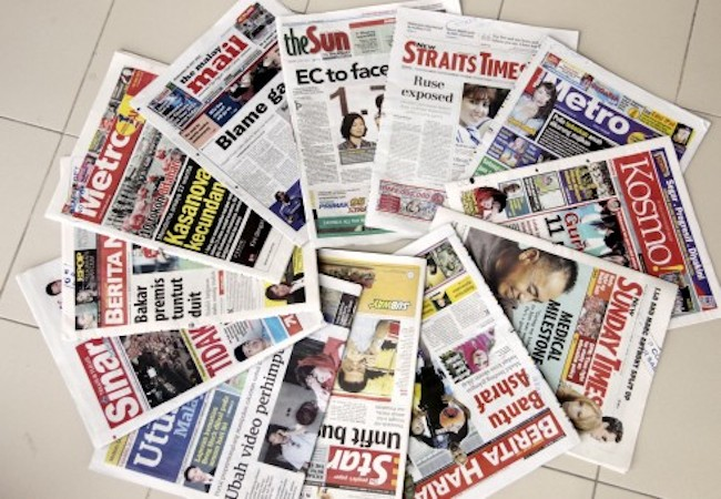 List of Malaysian Mainstream Media – Newspapers and its