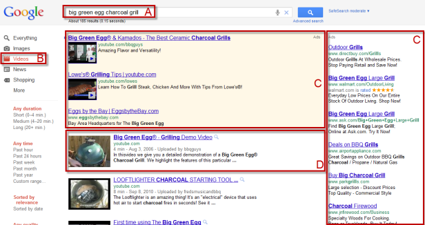 PV on Google video search annotated